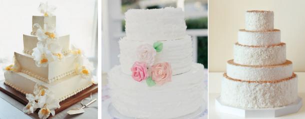 bolos brancos