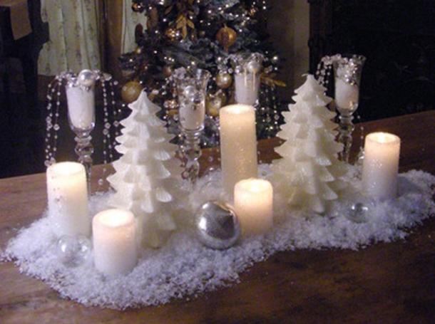 8 centros de mesa de natal nicos e originais feminina - Centrotavola natalizi pinterest ...