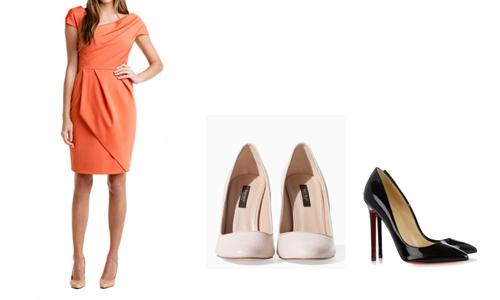Como Combinar Vestidos com Sapatos (1)