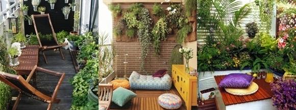 Como Fazer um Jardim na Varanda - ideias
