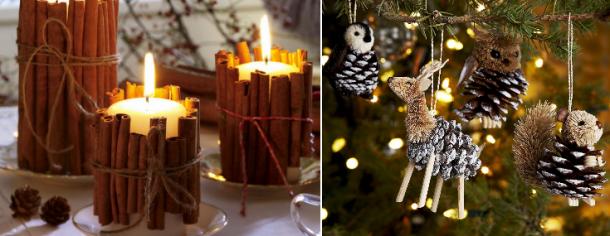 decorações de natal fáceis de fazer