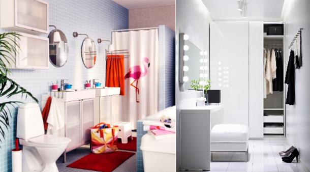 espelhos em espaços pequenos