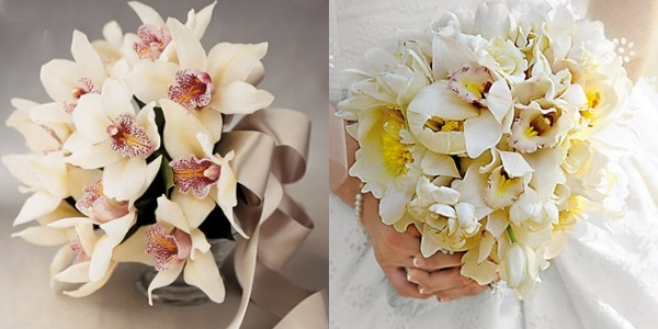 Ramos de Noiva com Orquídeas (4)