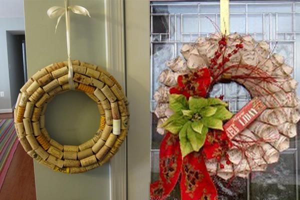 Sugestões de Coroas Originais para o Natal (1)