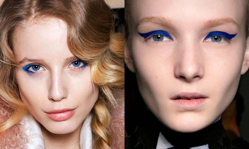 Tendência de Maquilhagem de Olhos: Azul (3)