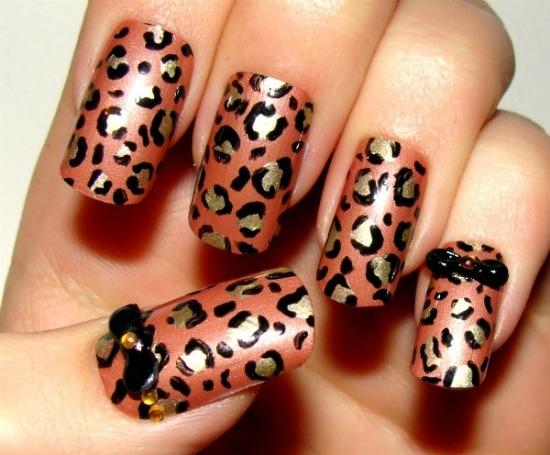 Unhas Decoradas -  Leopardo