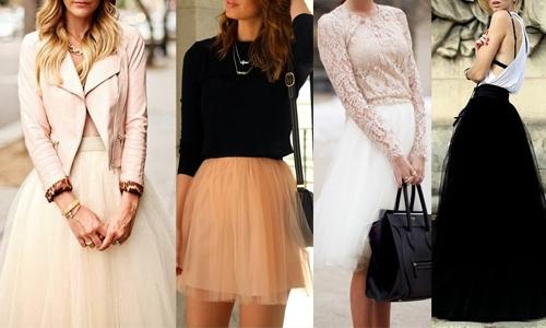 Vestidos com Decote em Tule (3)