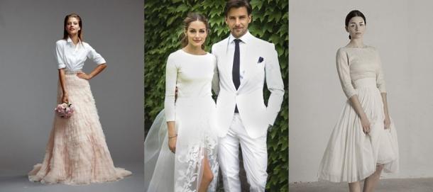 Vestidos de Casamento de Duas Peças (1)