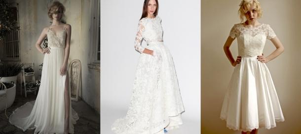 Vestidos de Casamento de Duas Peças (2)